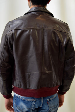 40's/50's Julesons of Boston Horsehide Leather Jacket