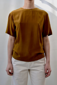 Caramel Silk Top