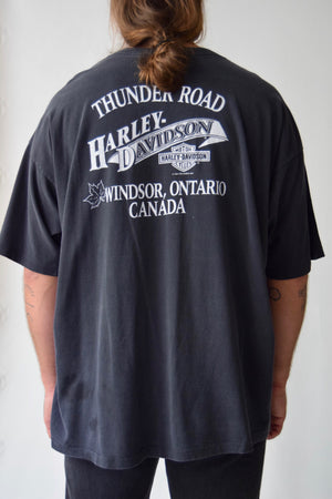 Vintage Harley Fat Is Where It's At T-Shirt FREE SHIPPING