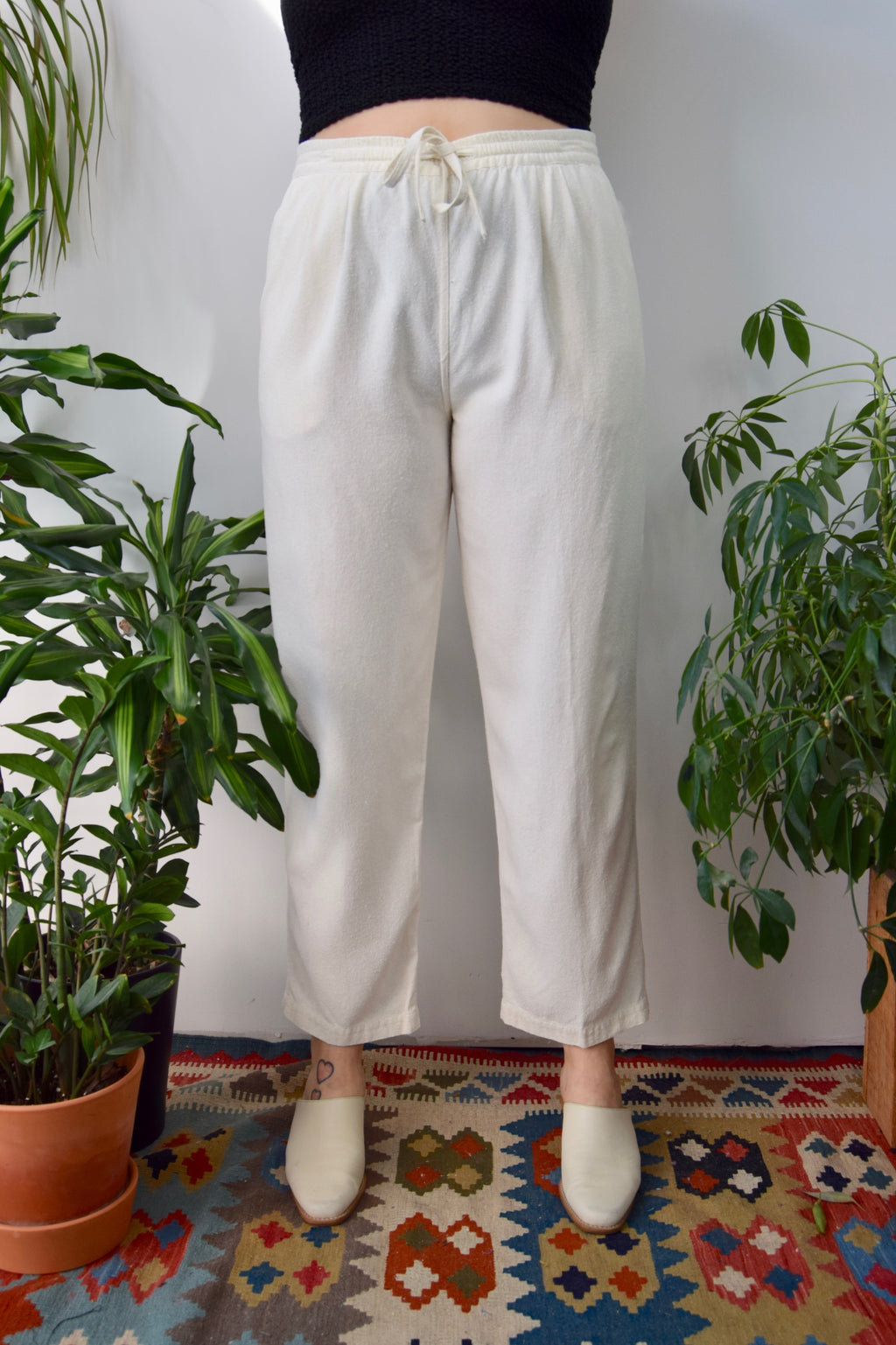 Raw Silk Lounge Pants