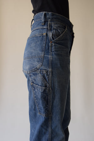 Vintage 1940's Long L Lee Carpenter Jeans