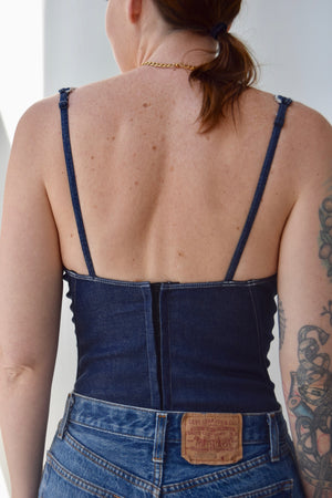 Coyote Ugly Denim Bustier