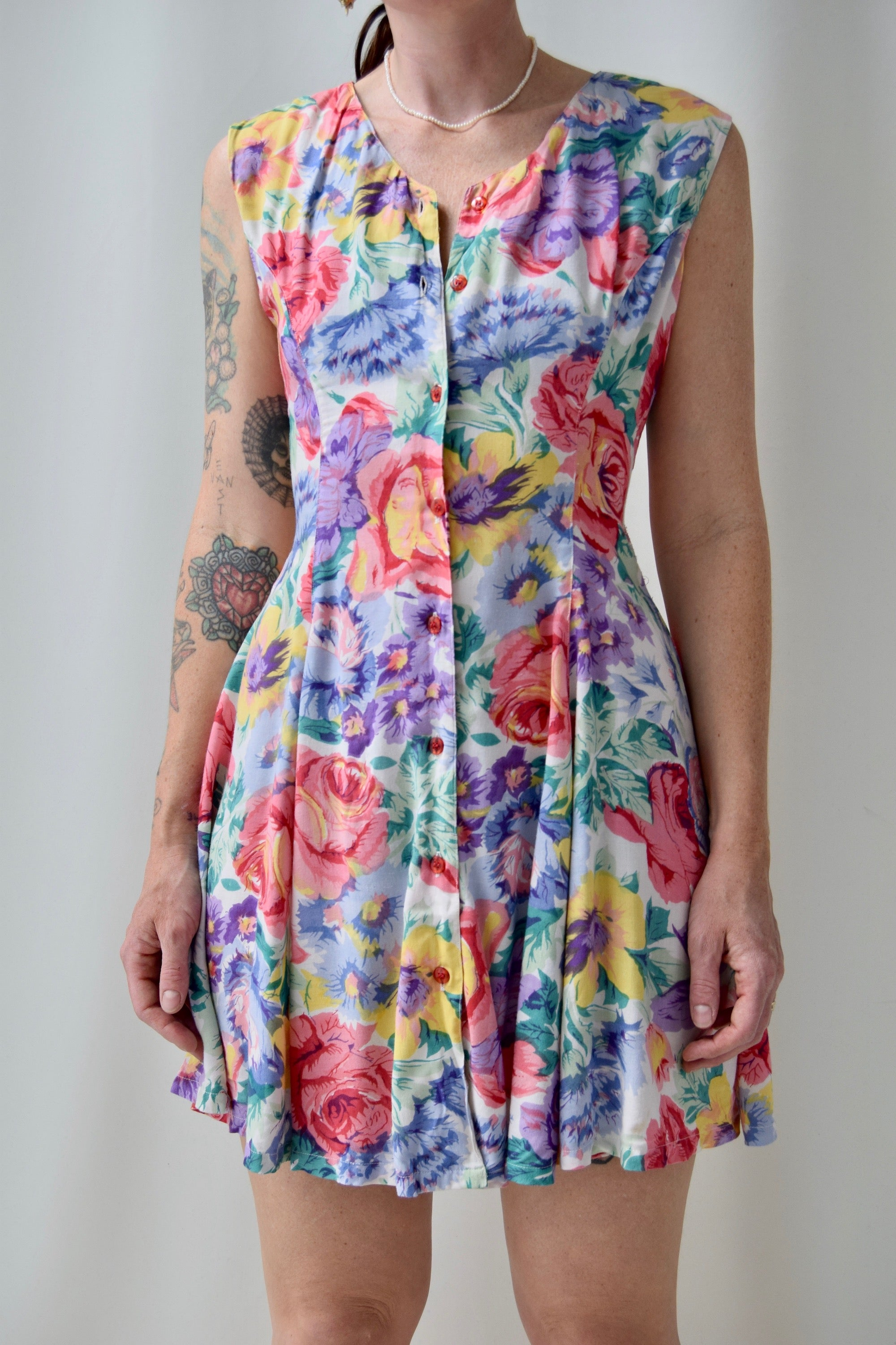 Floral Daiquiri Dress