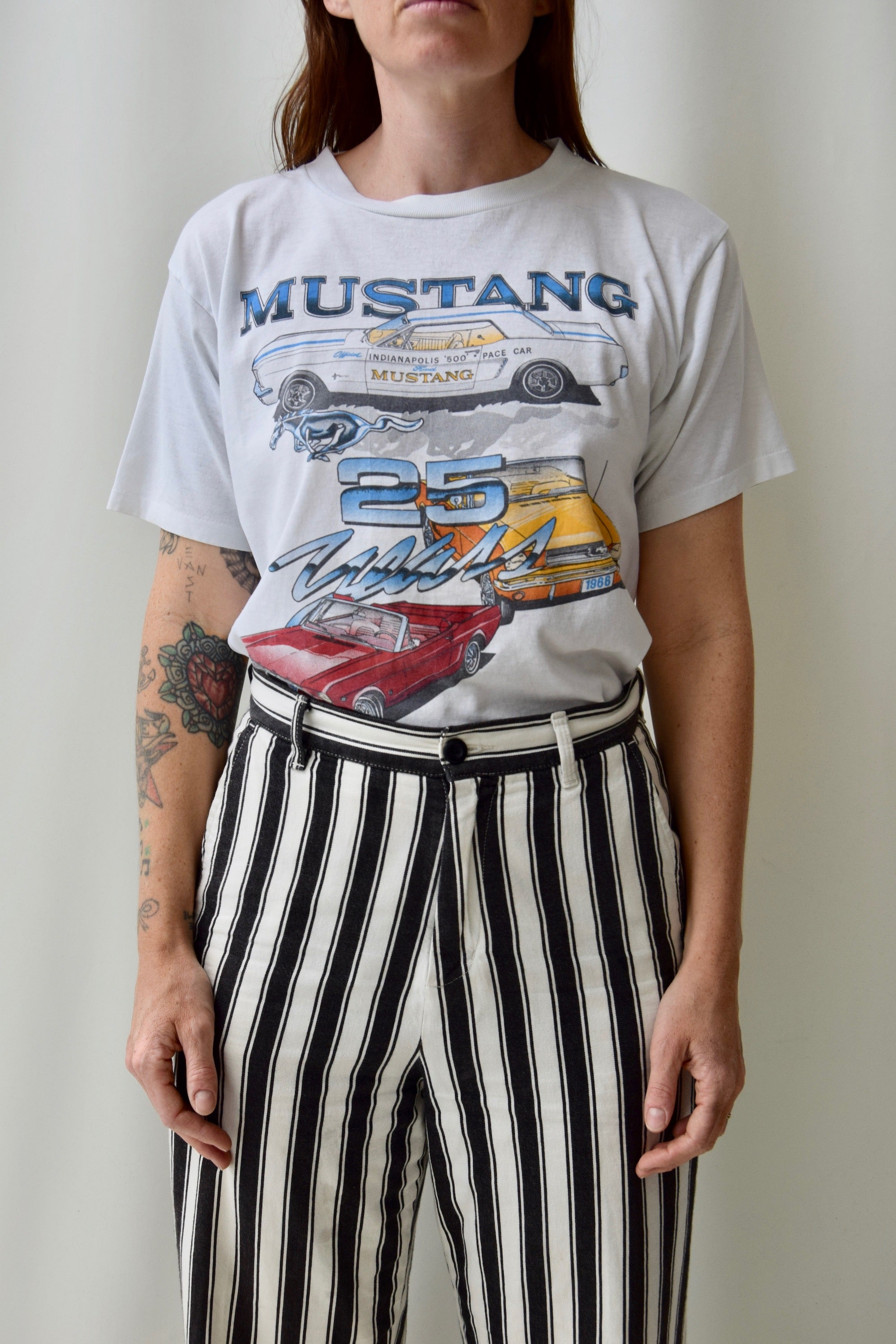 25 Years of Mustang Dad Tee