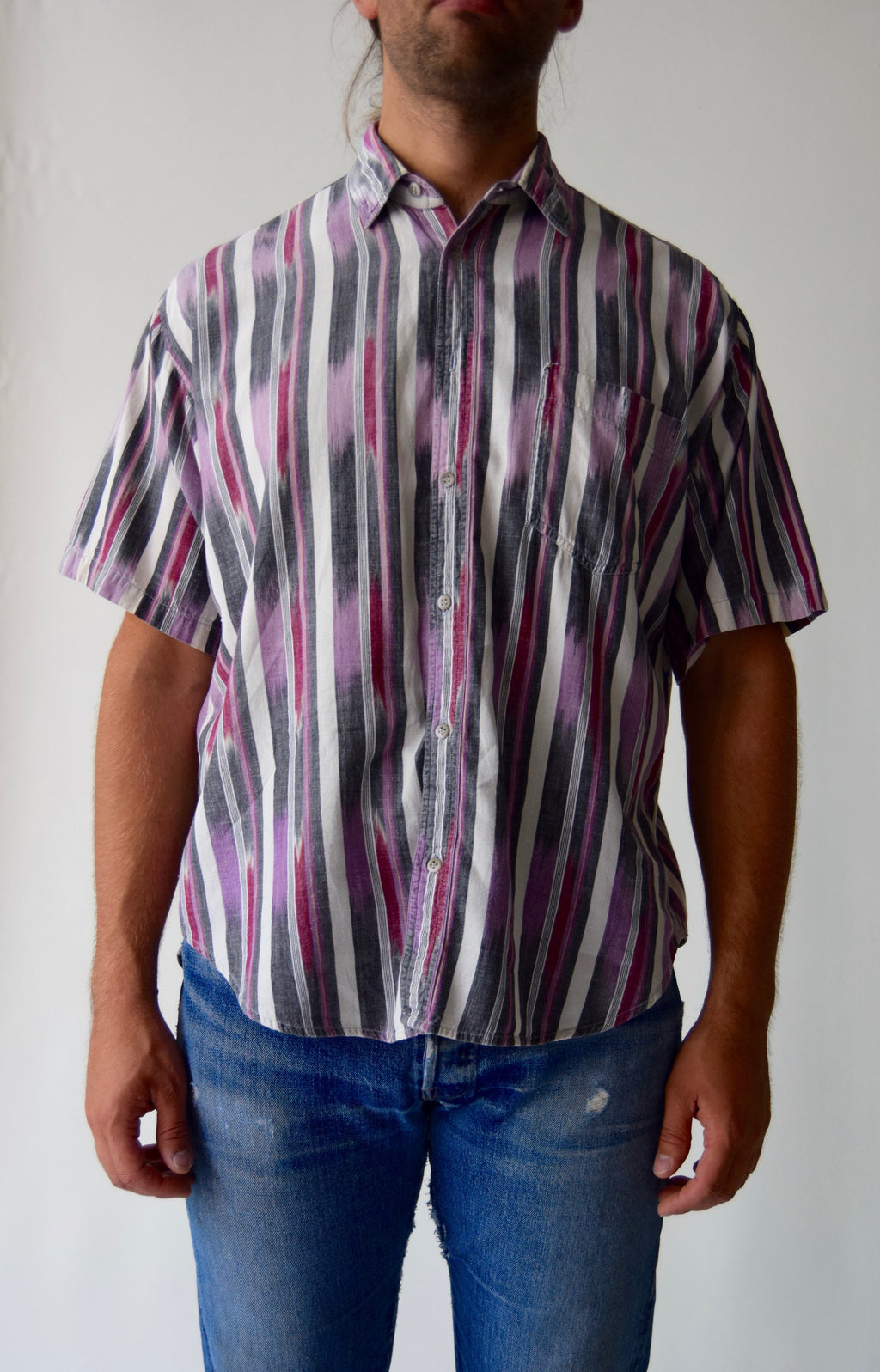 "Vintage Men's Cotton Southwest ""Enro"" Button Up"