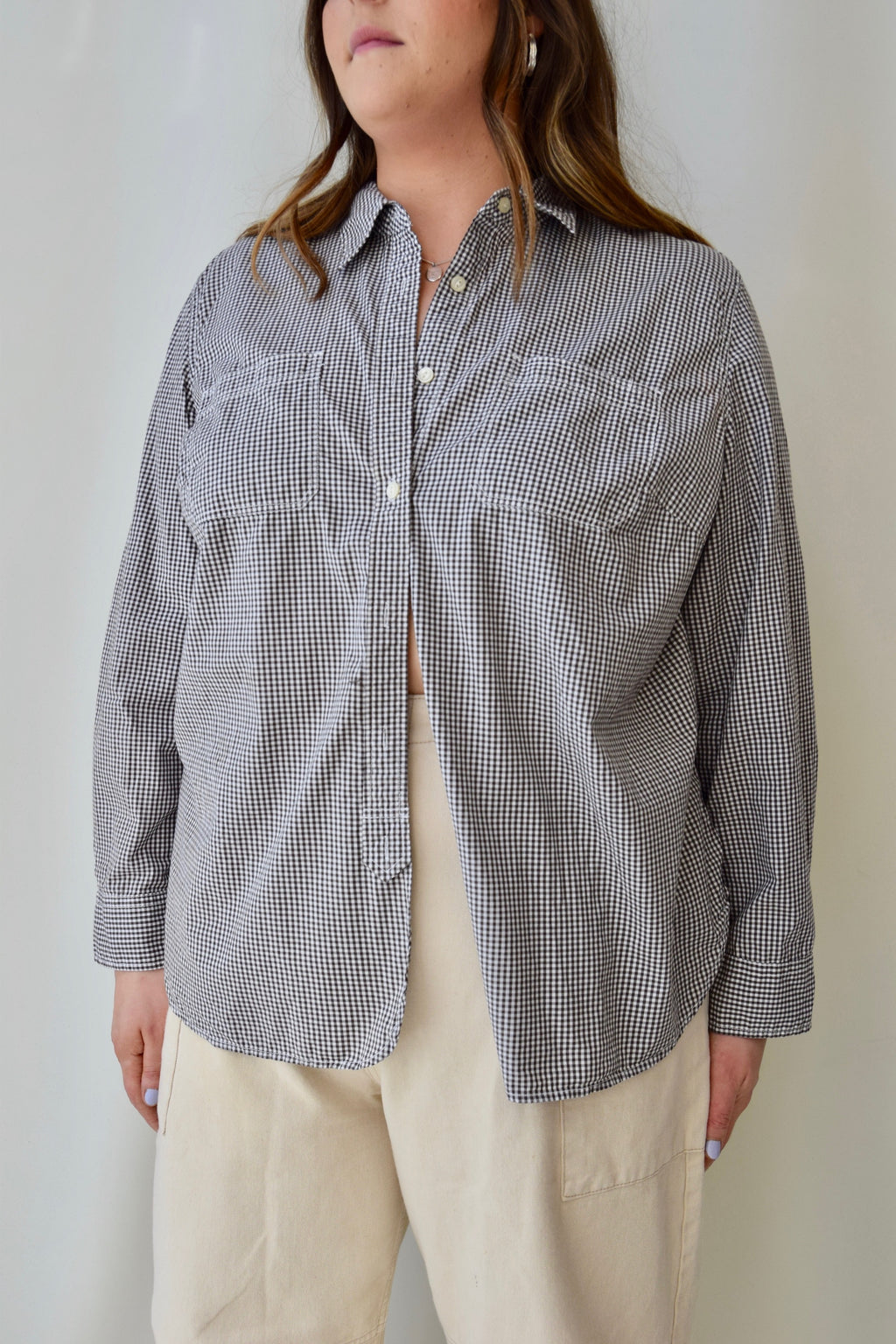 Ralph Lauren Cotton Gingham Top