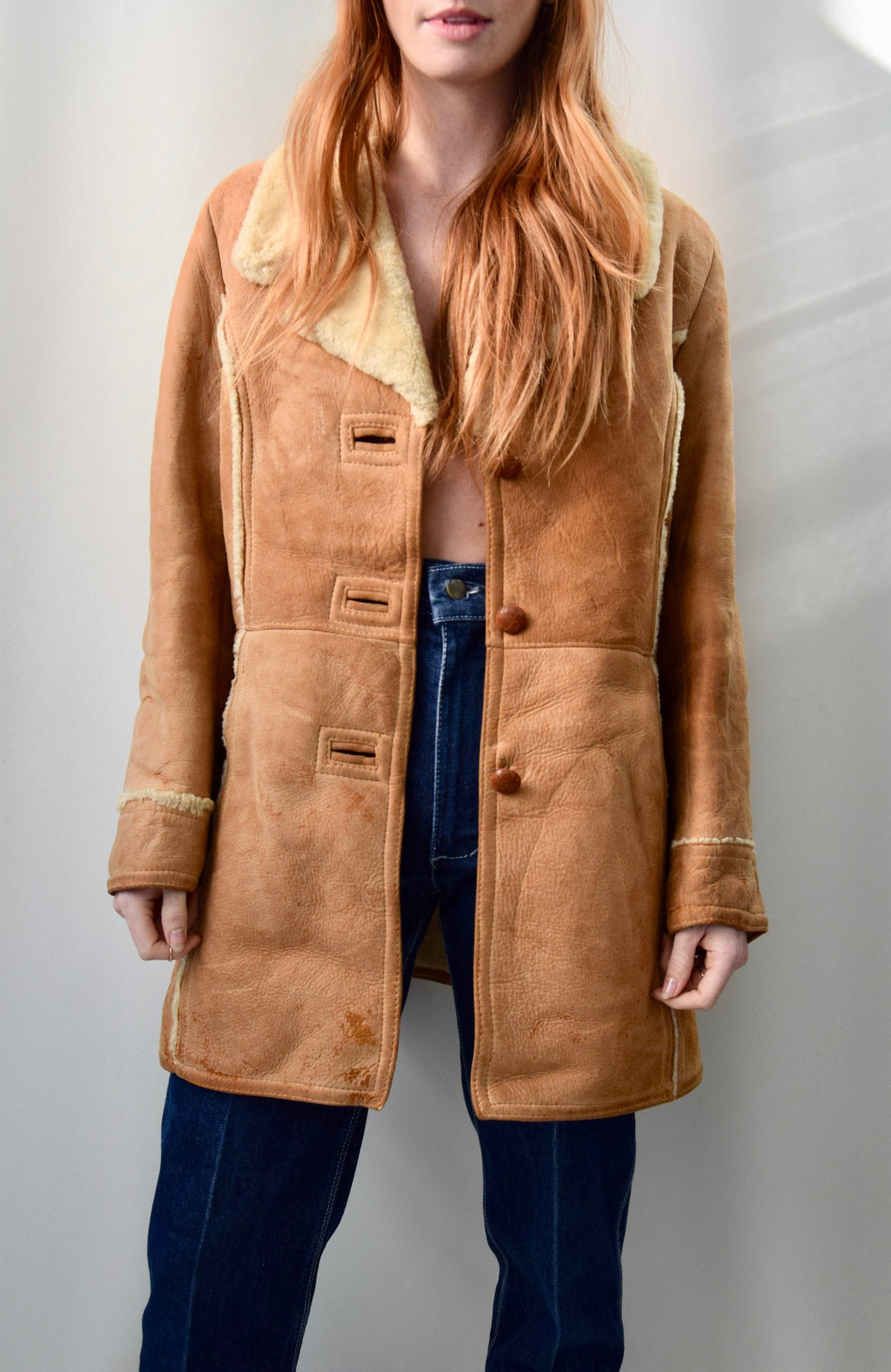 The Perfect Vintage Shearling