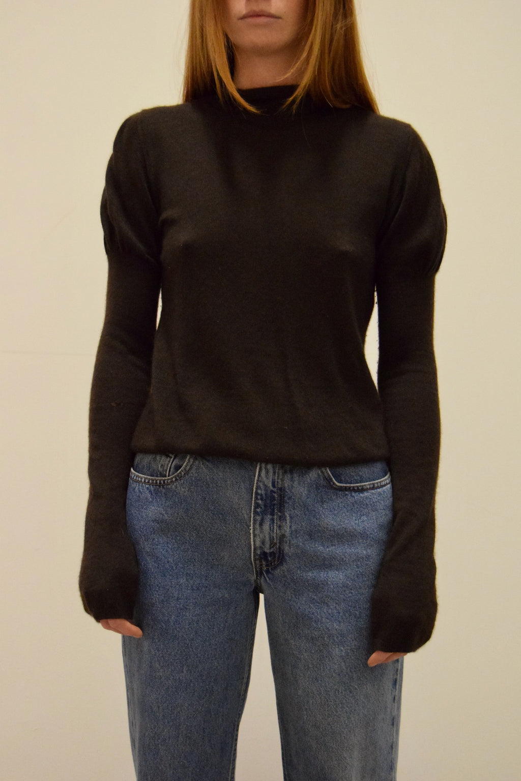 Chocolate Cashmere Prada Knit FREE SHIPPING TO THE U.S.