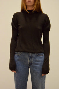Chocolate Cashmere Prada Knit