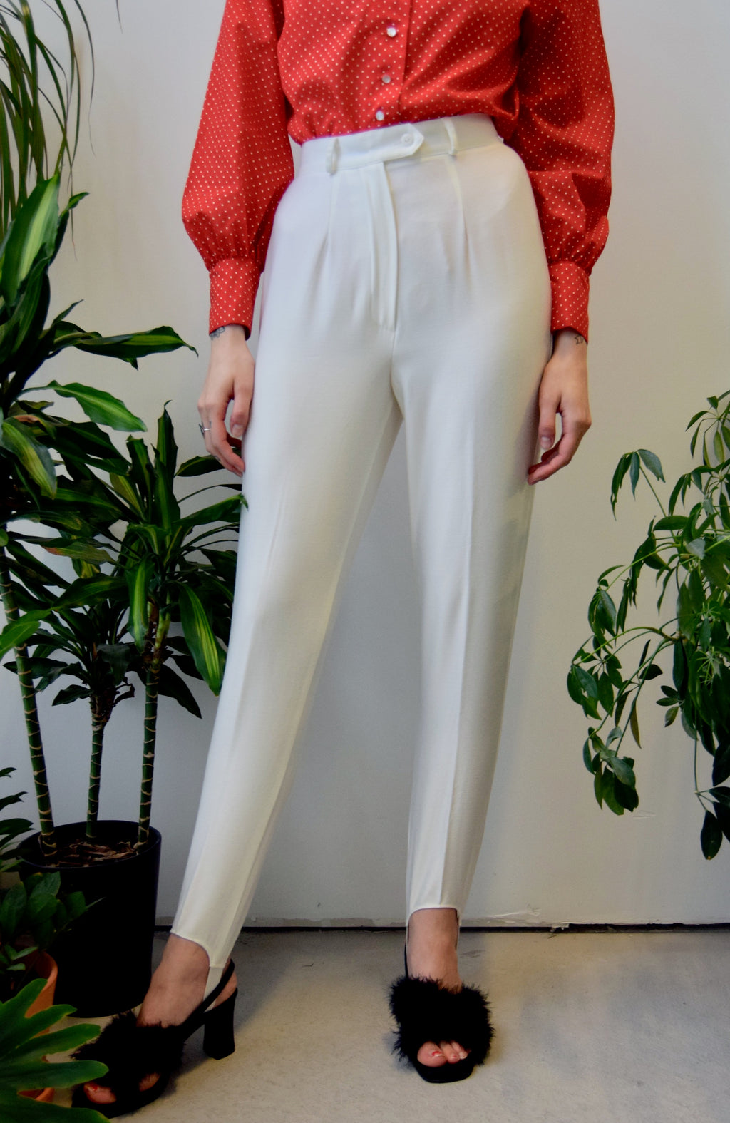 Pearl Stirrup Trousers