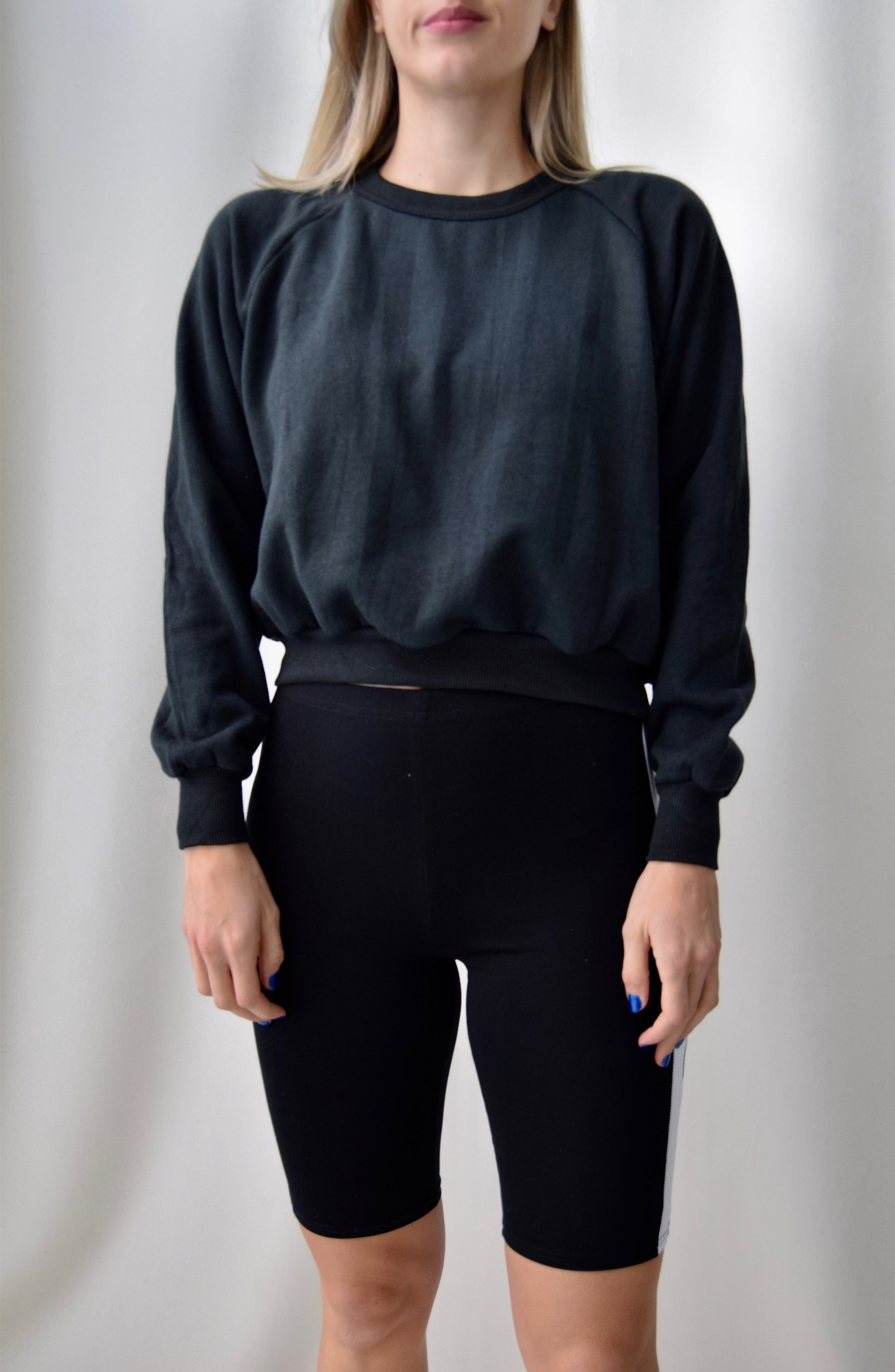 "Community ""Scissor Happy"" Black Sweatshirt"