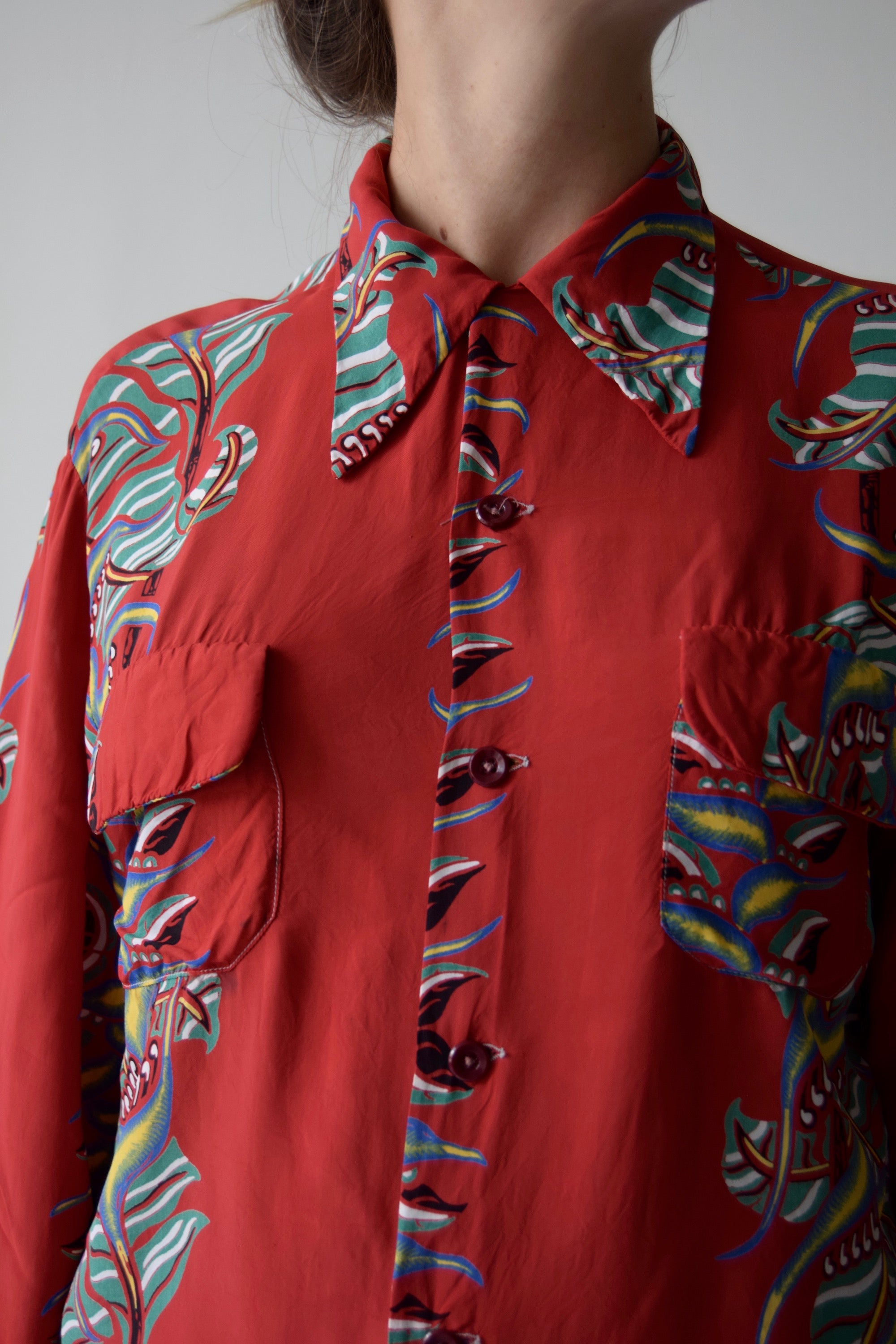 Vintage 1940's Hawaiian FREE SHIPPING TO THE U.S.