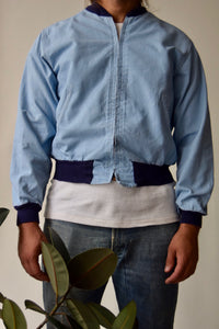 1960's Baby Blue Hercules Outerwear Jacket