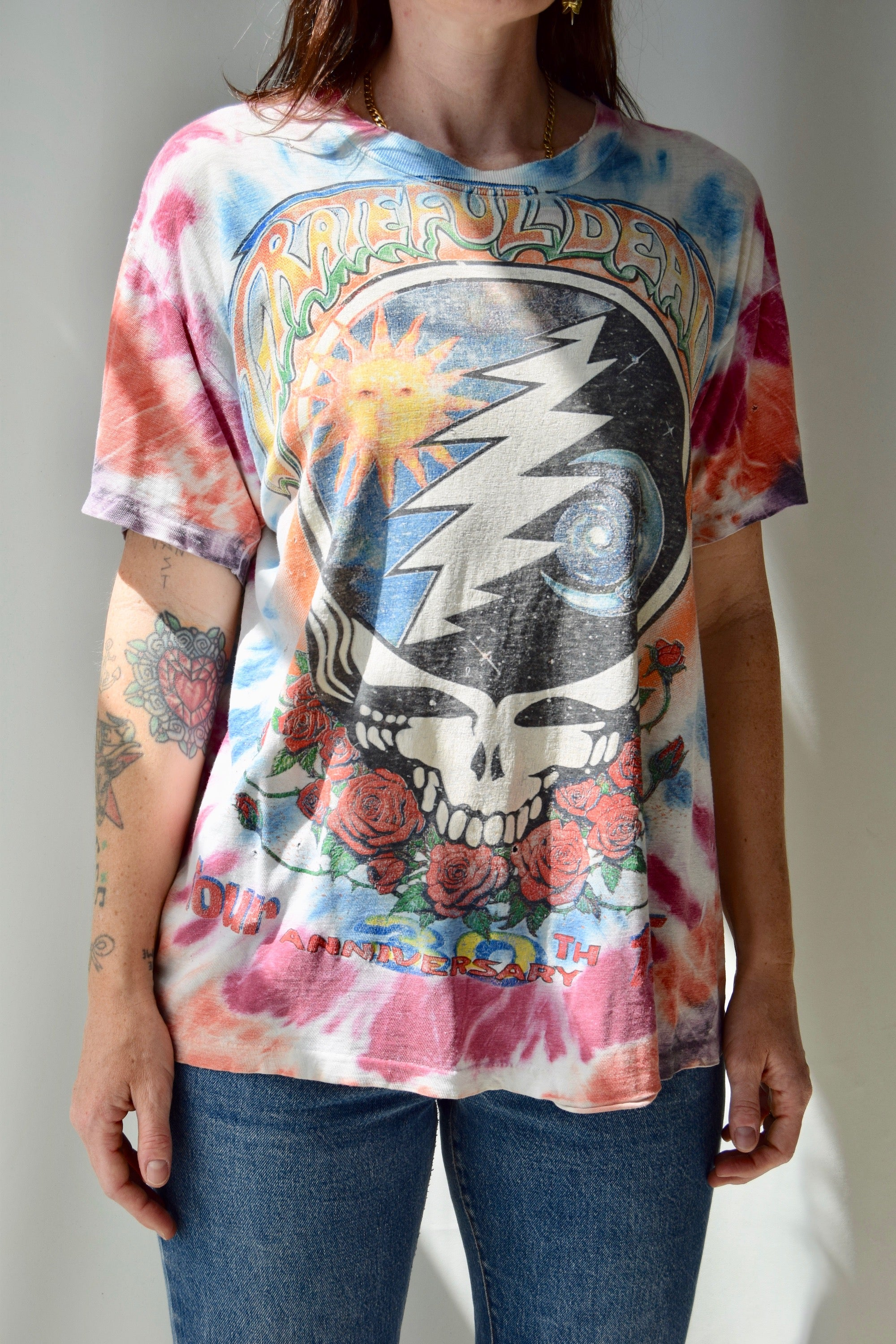 1995 Grateful Dead 30th Anniversary Tour T-Shirt
