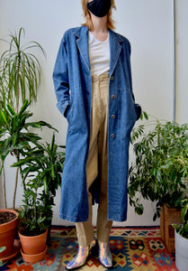 Nordstrom Denim Duster