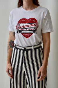 Single Stitch 'Community' T-Shirt