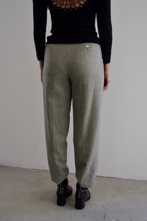 Ralph Lauren Willow Wool Herringbone Trousers