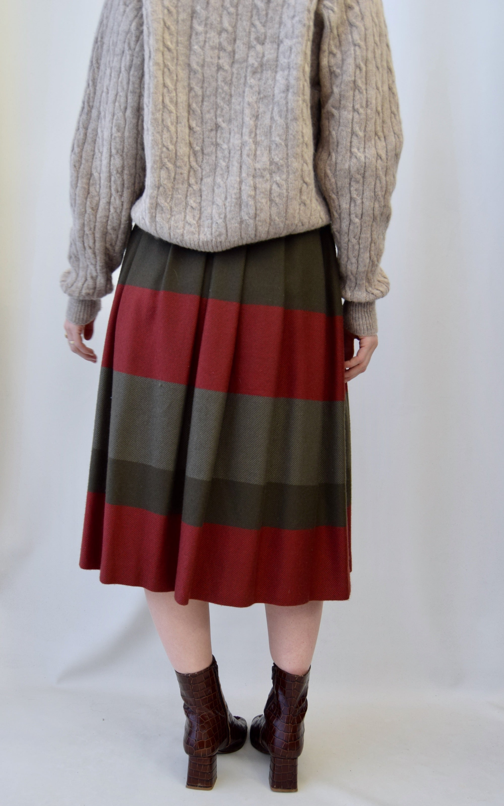 Vintage RODIER PARIS Wool Skirt
