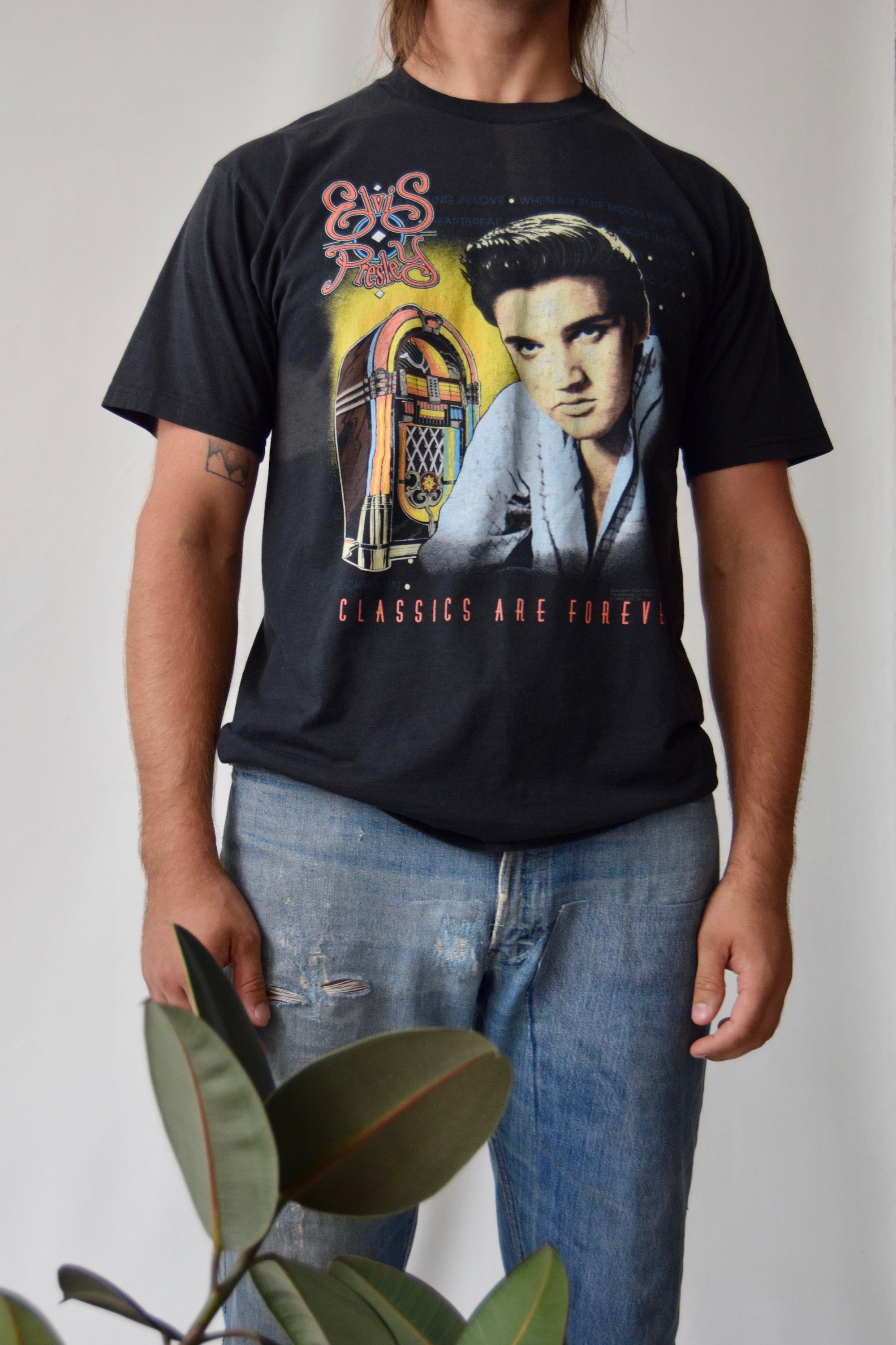 Vintage Elvis Presley Classics Are Forever T Shirt