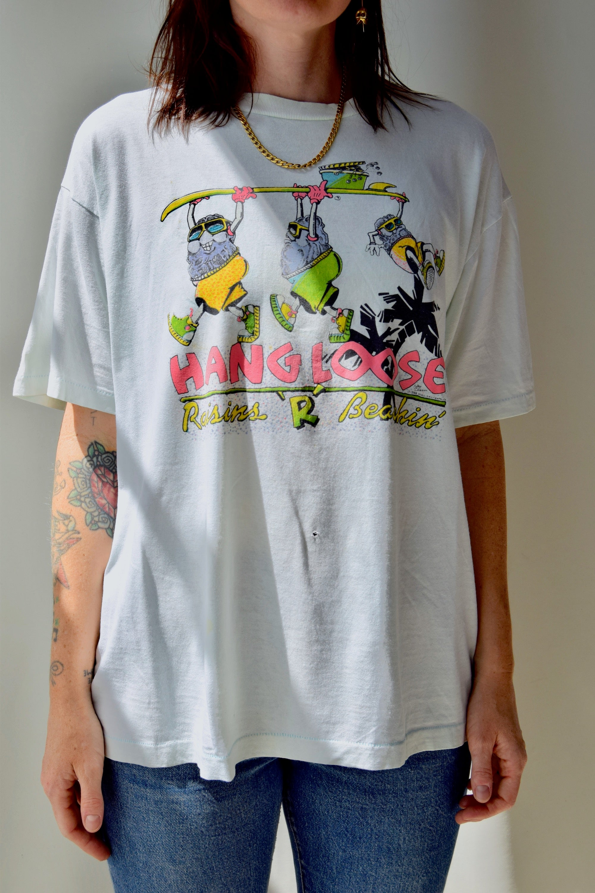 California Raisin's Beach Tee