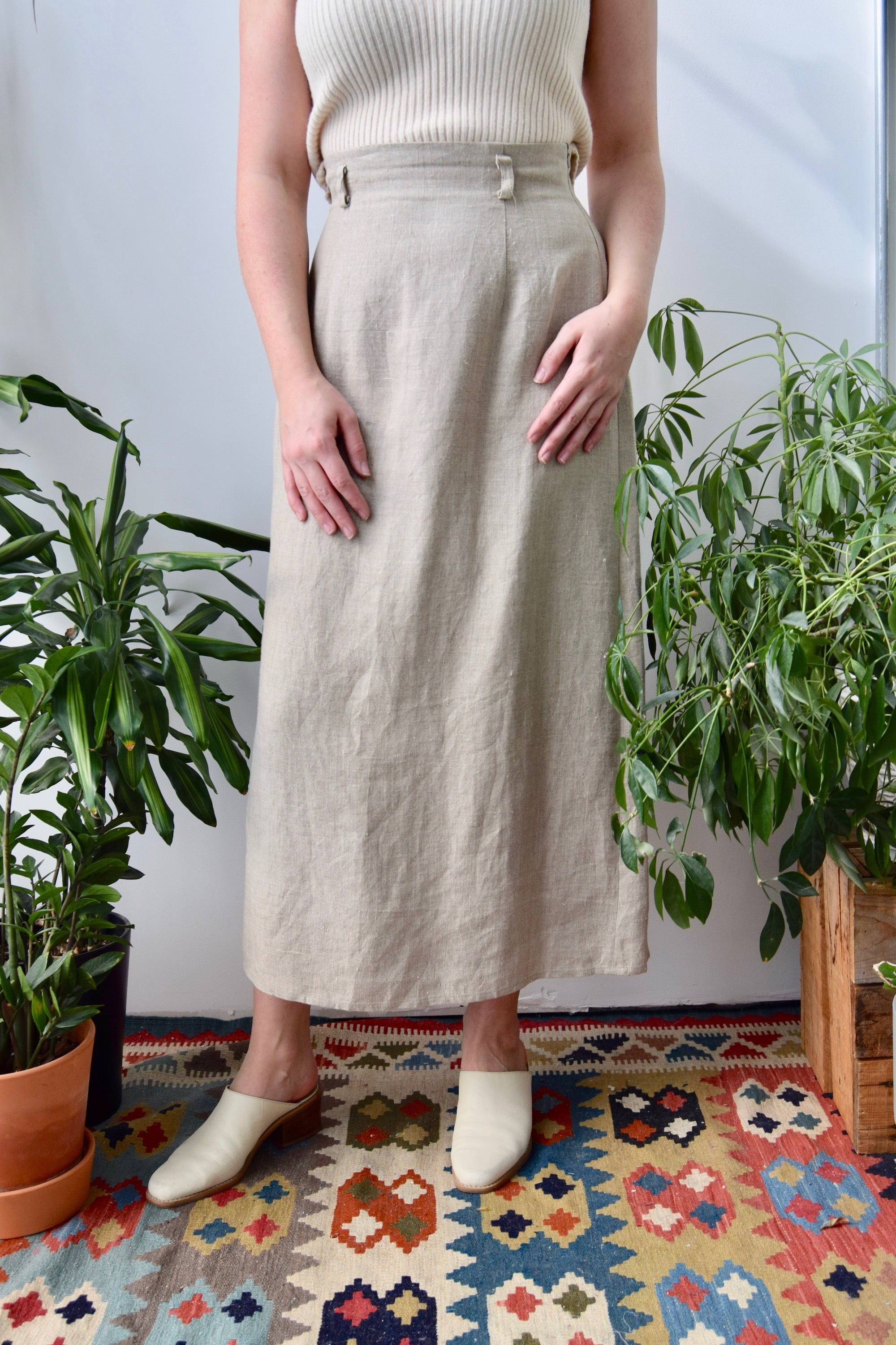Staple Linen Skirt
