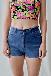 Ladies Levis Big E Denim Shorts