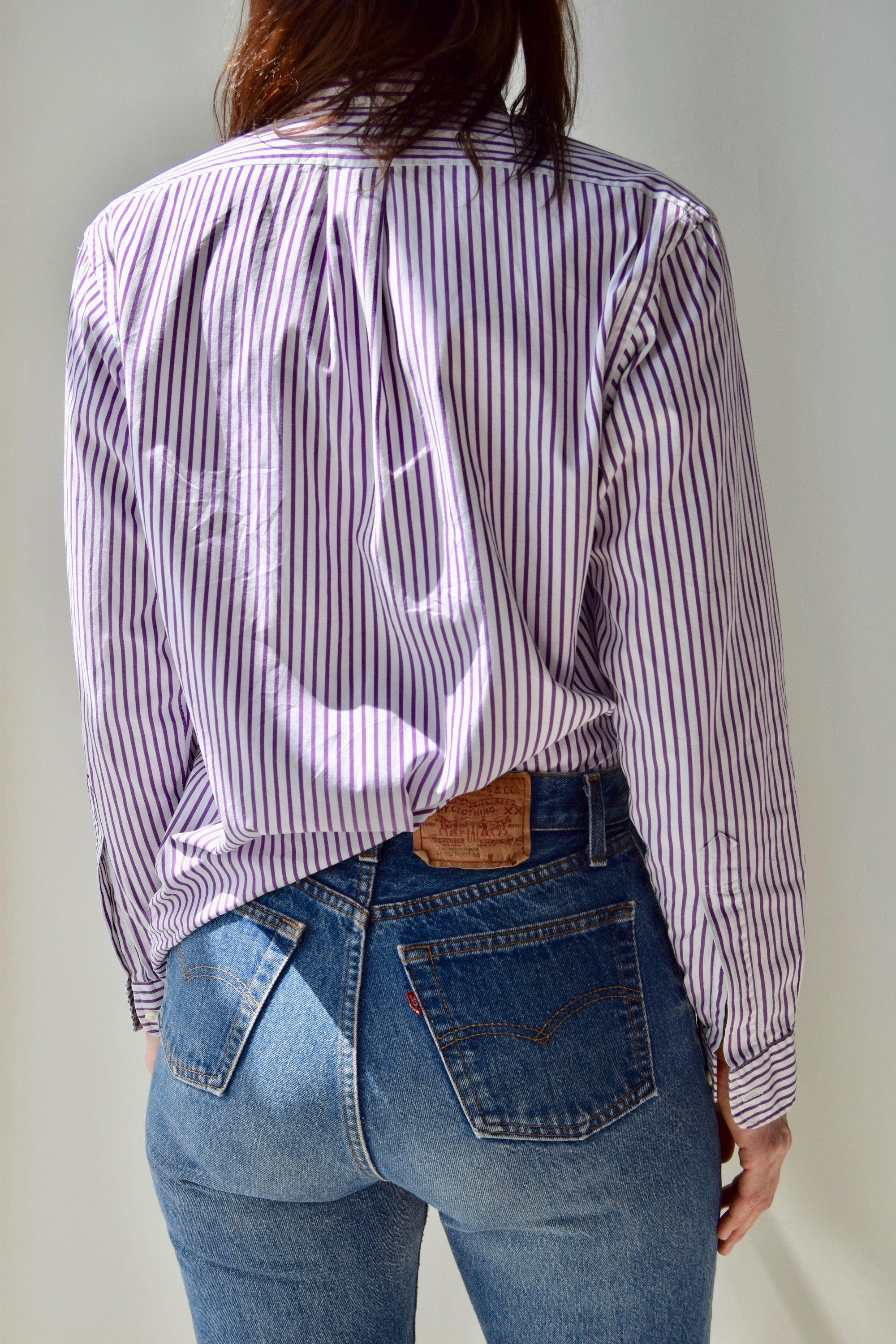 Brooks Brothers Striped Button Up