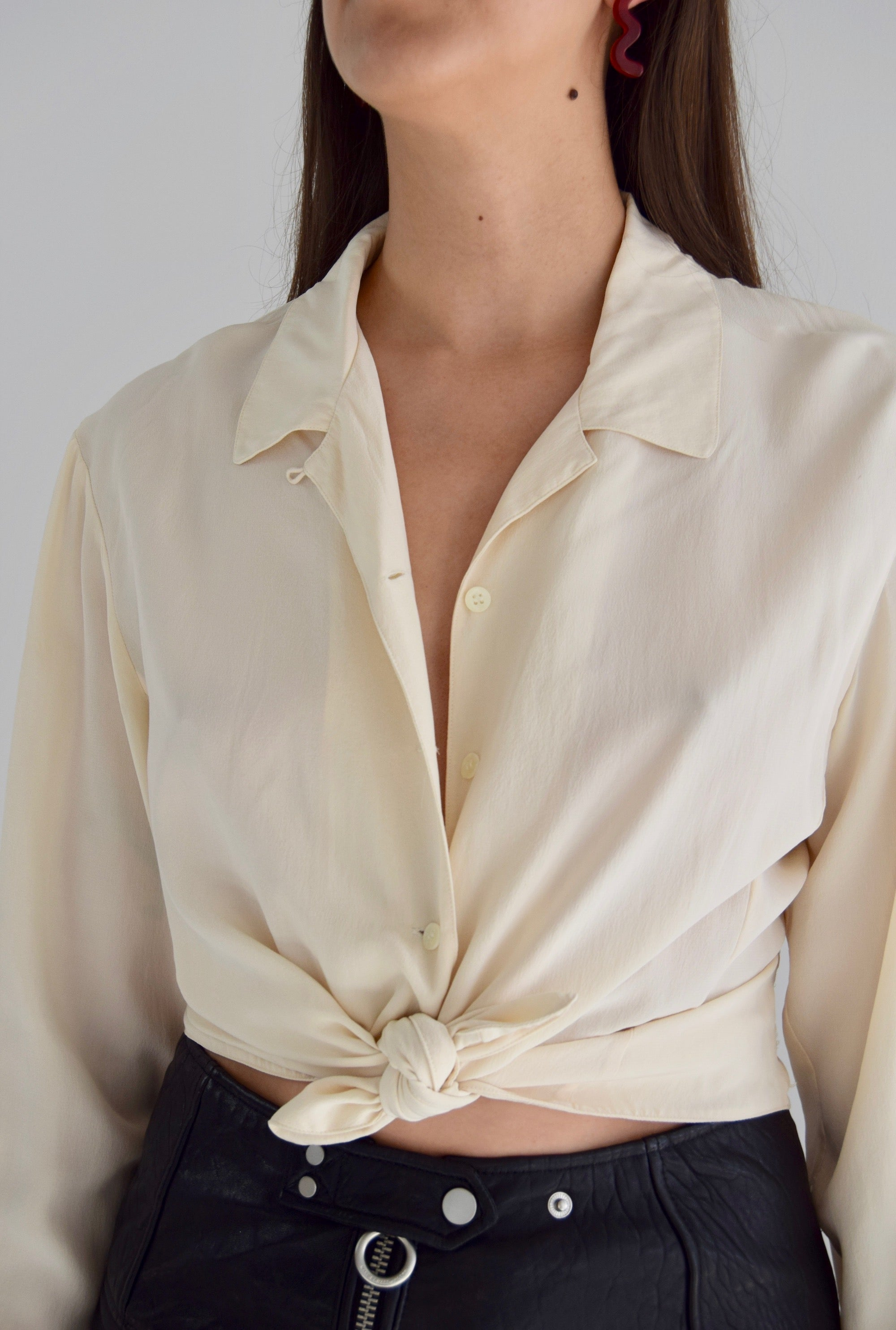 Silk Bone Top FREE SHIPPING TO THE U.S.