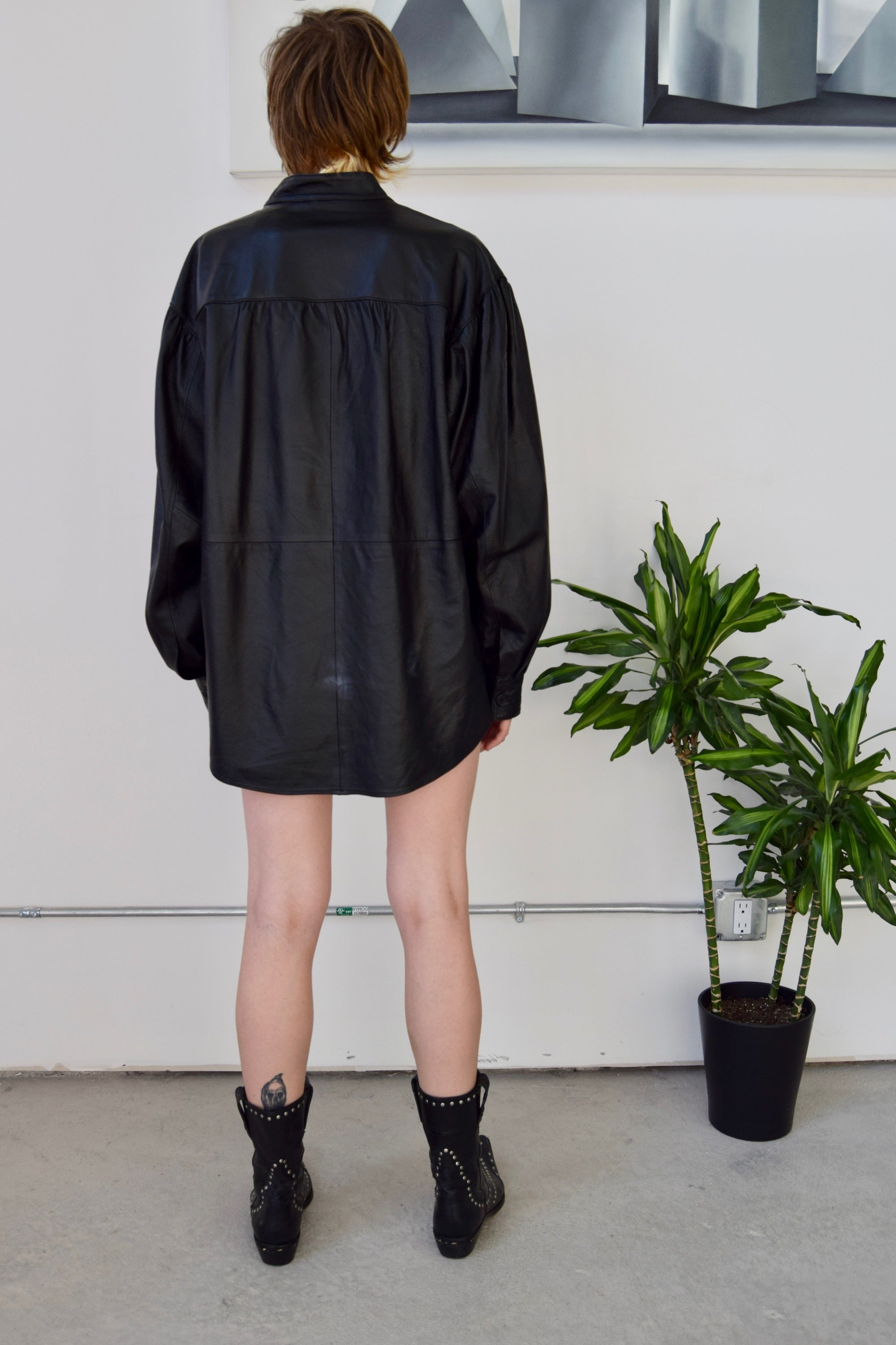 """As You Wish"" Leather Tunic"