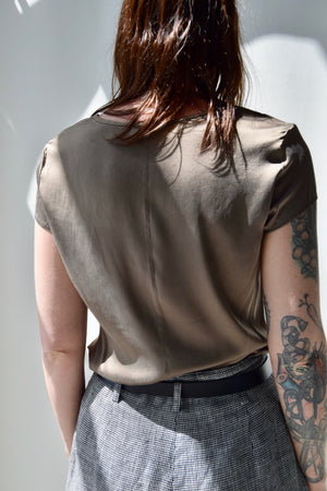 Coffee Silk T-Shirt