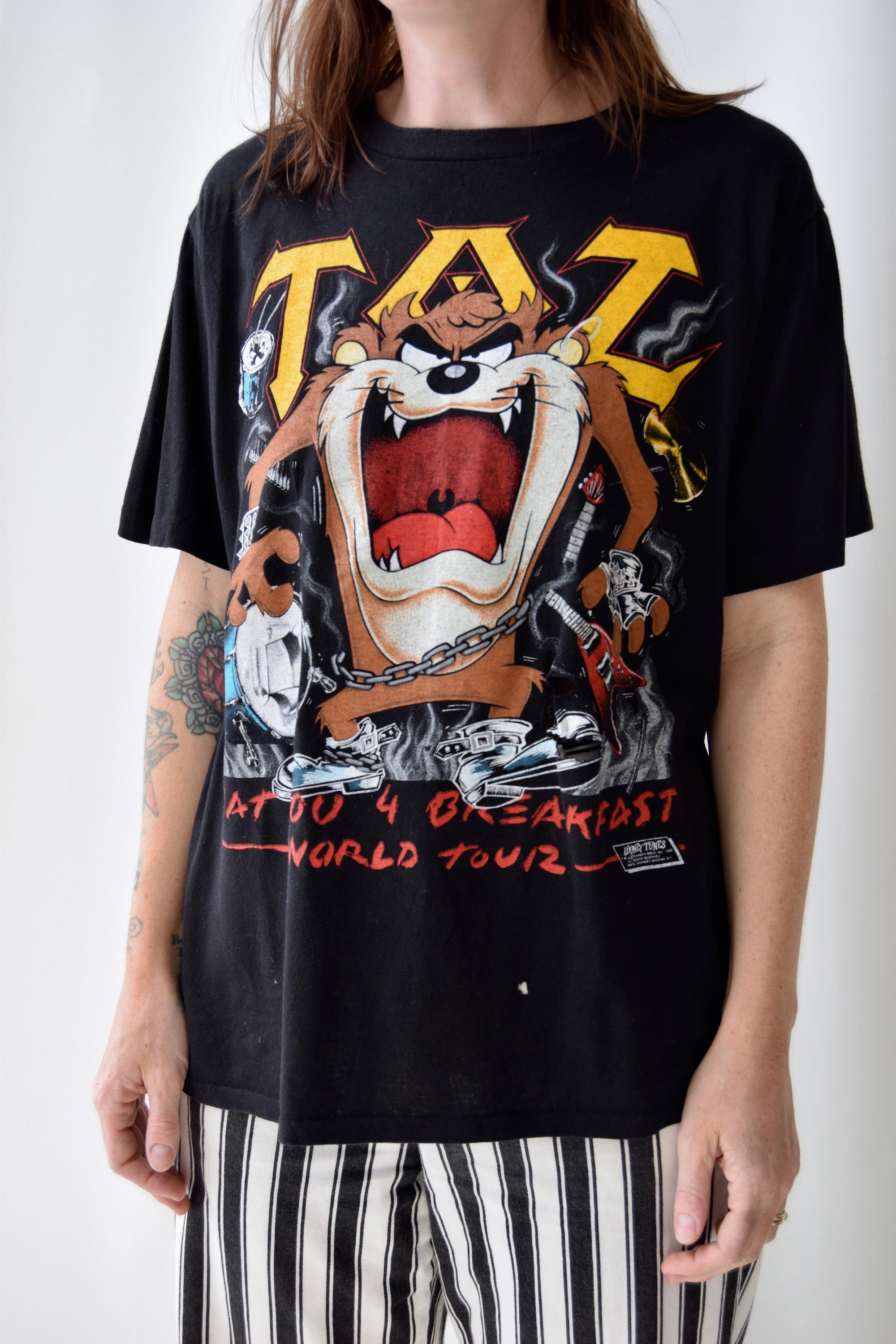1989 Taz World Tour Tee