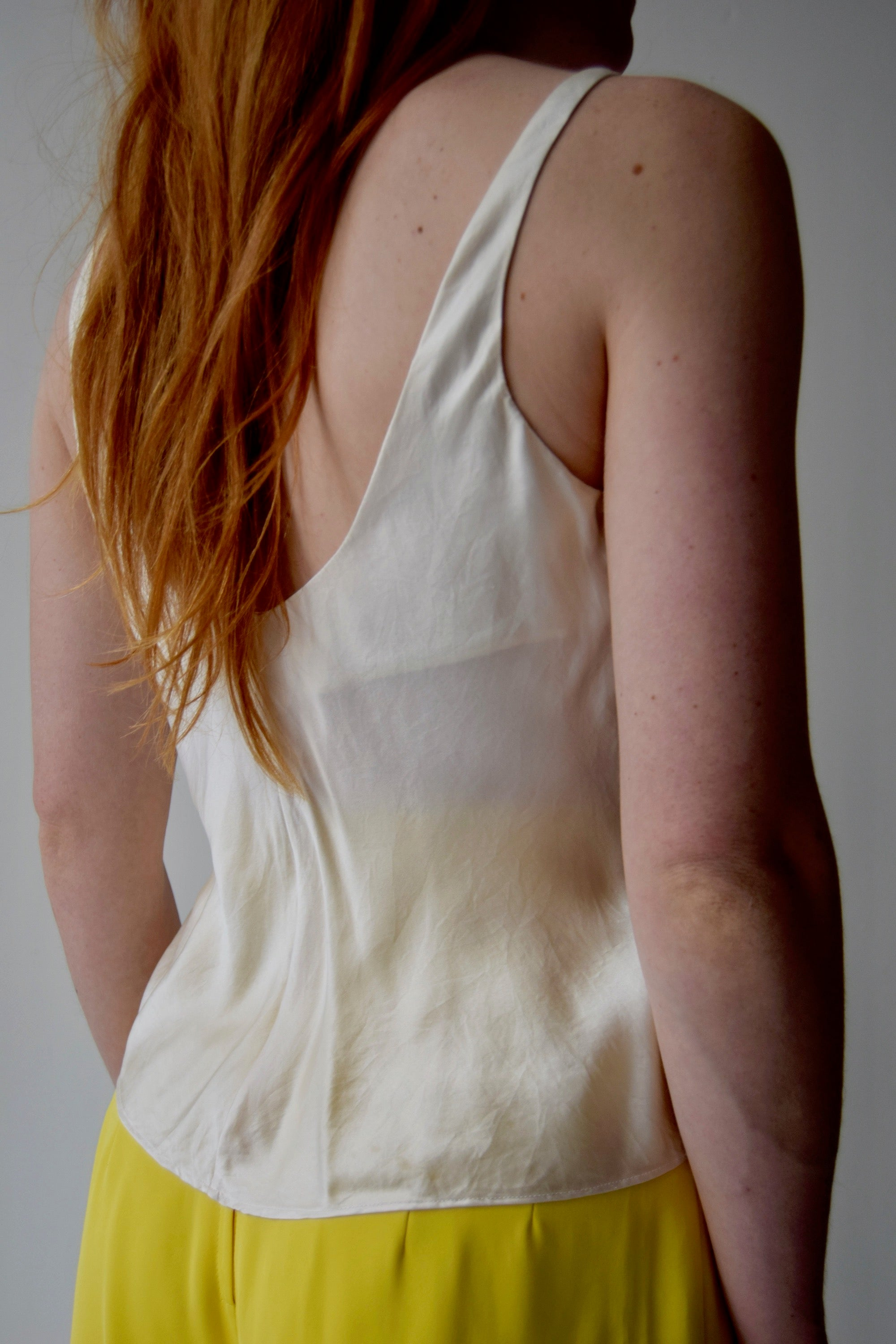 Victoria's Secret Slinky Silk Cream Tank