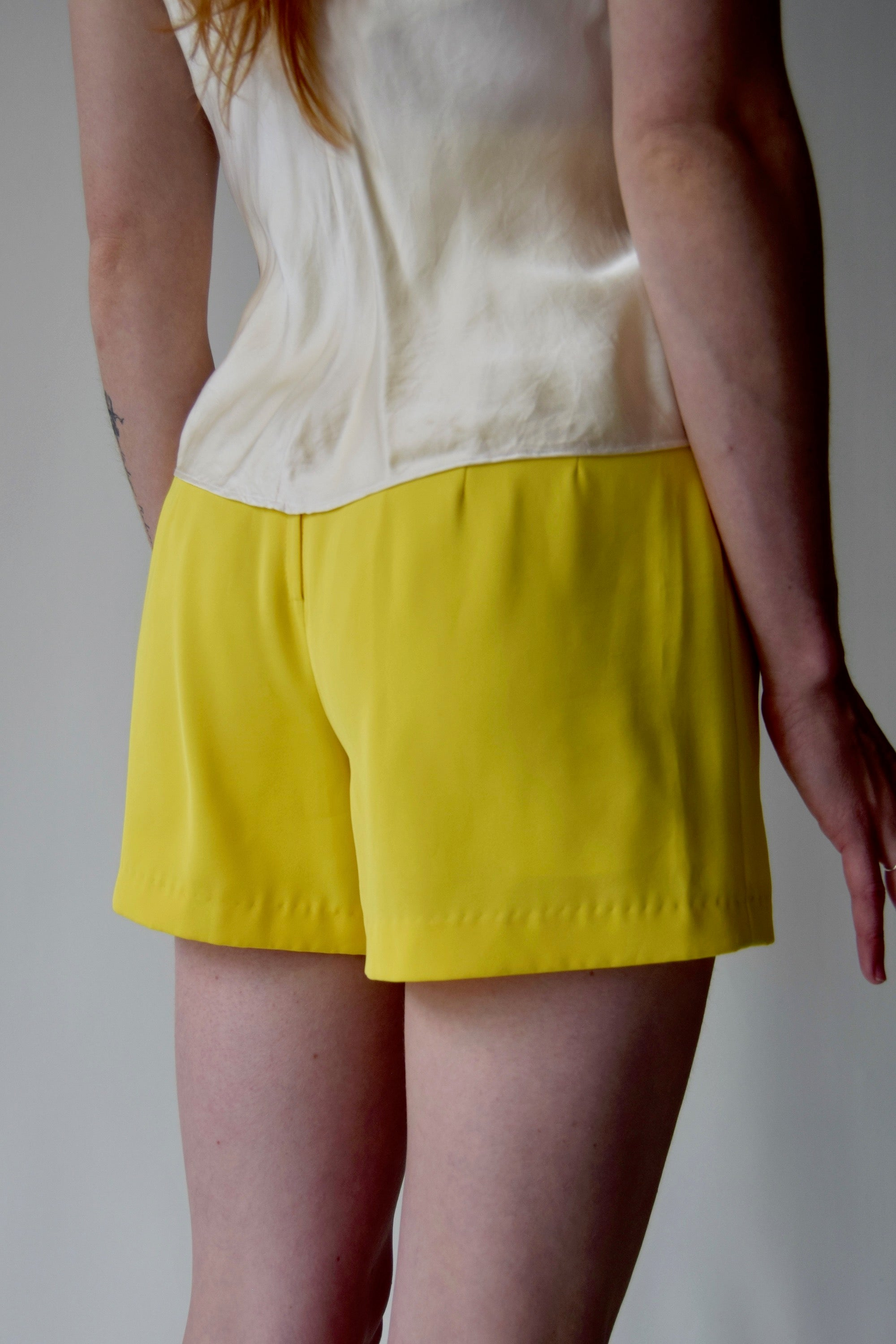 Lemon Drop Martini Shorts FREE SHIPPING