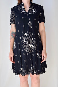 Layered 90's Floral Dress