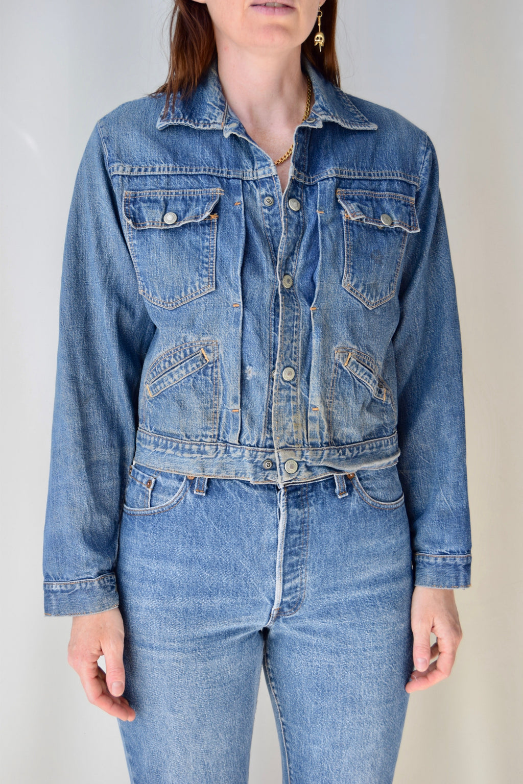 1950's JC Penney & Co Denim Jacket
