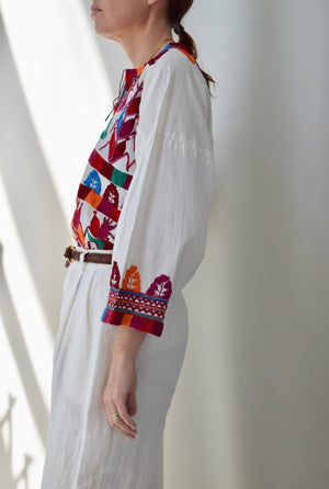 Vibrant Embroidered Tunic