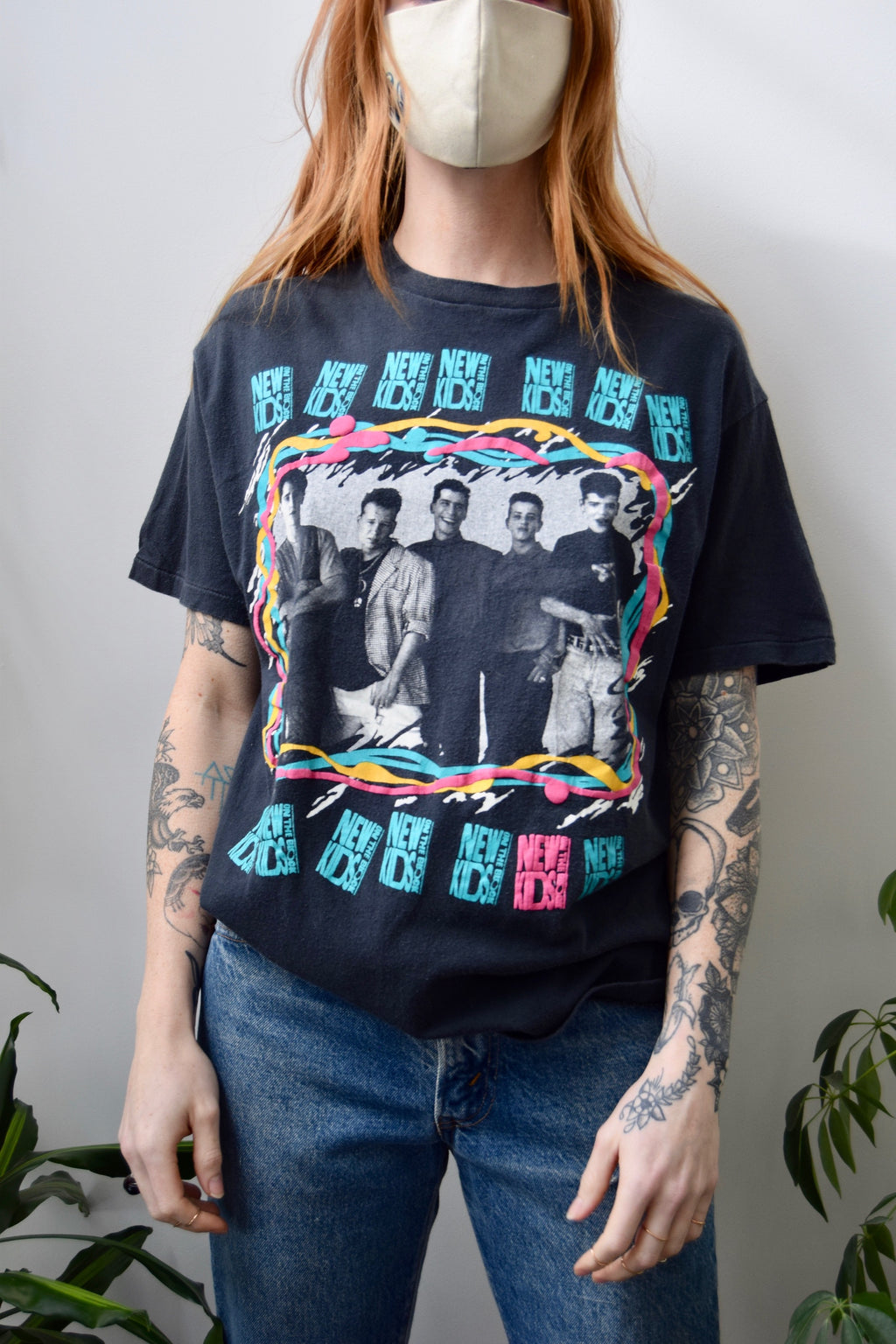 Vintage 1989 New Kids On The Block Tee