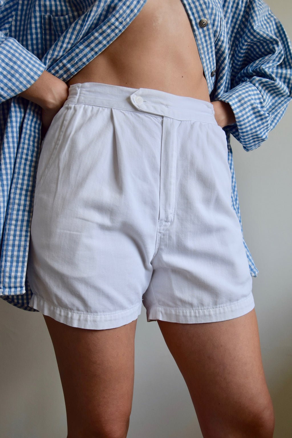 Vintage 1960's Wilson Cotton Tennis Shorts FREE SHIPPING TO THE U.S.