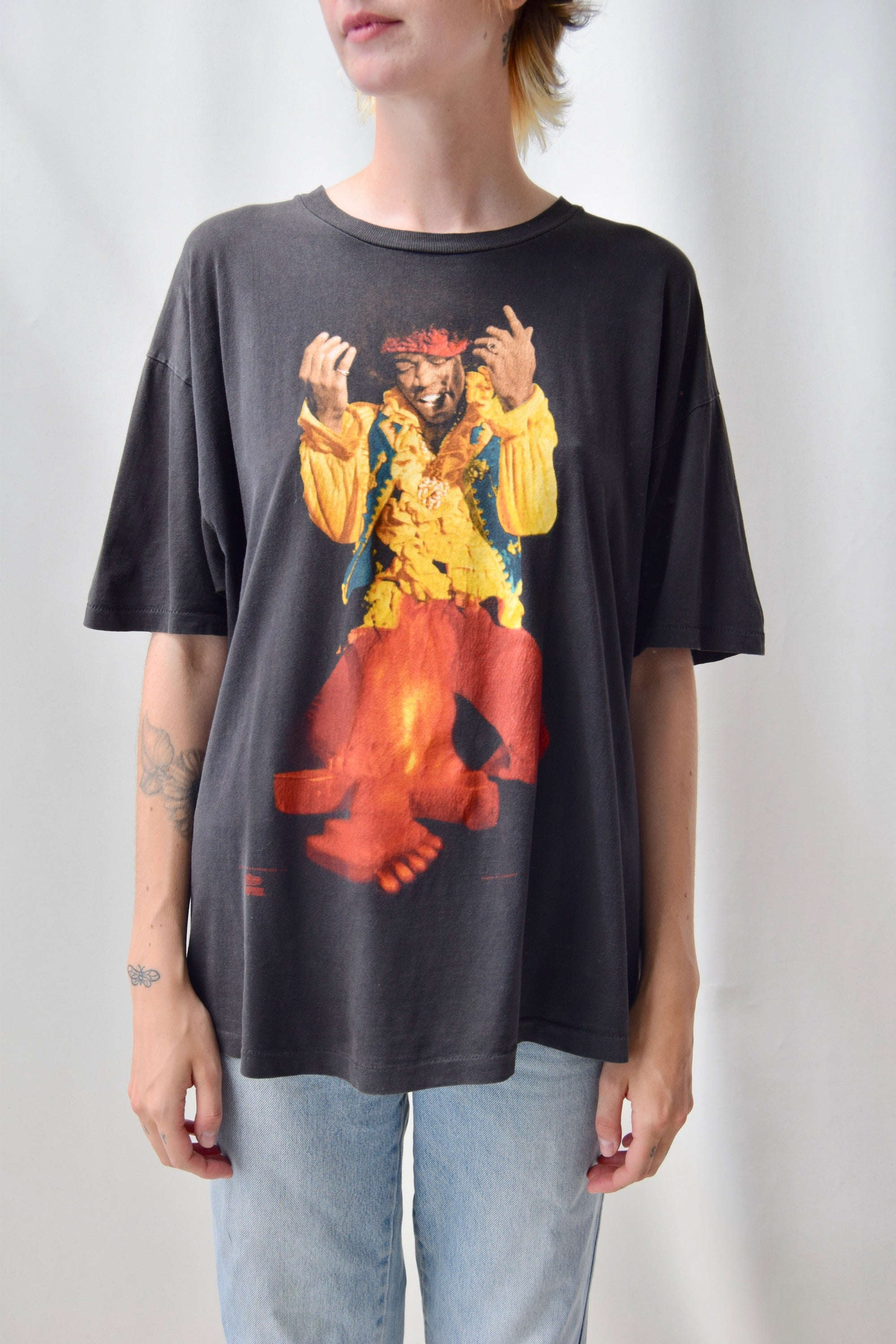 "1991 ""Are You Experienced"" Jimmy HendriX Tee"