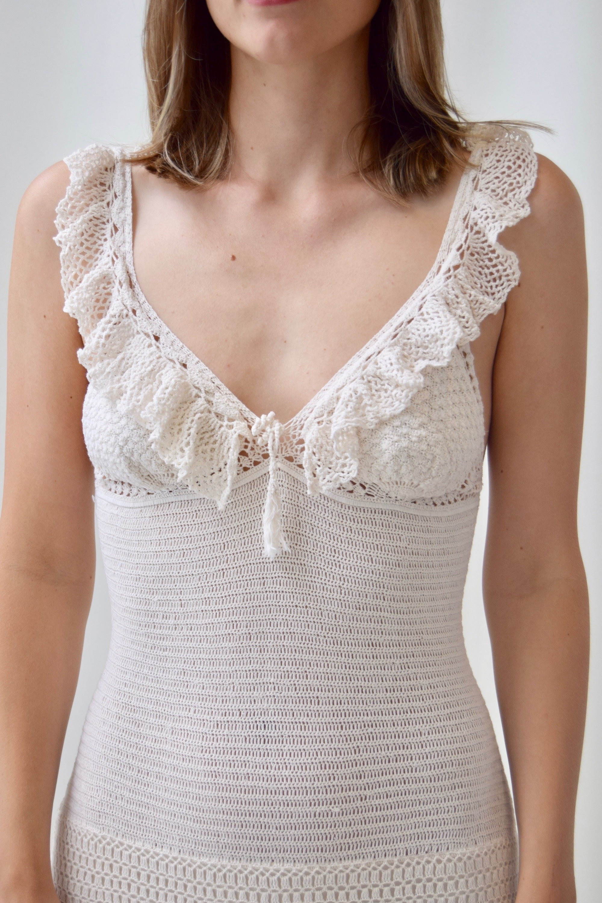 Ralph Lauren Crochet Dress