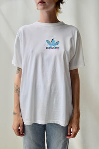 Double Sided Adidas Logo Tee