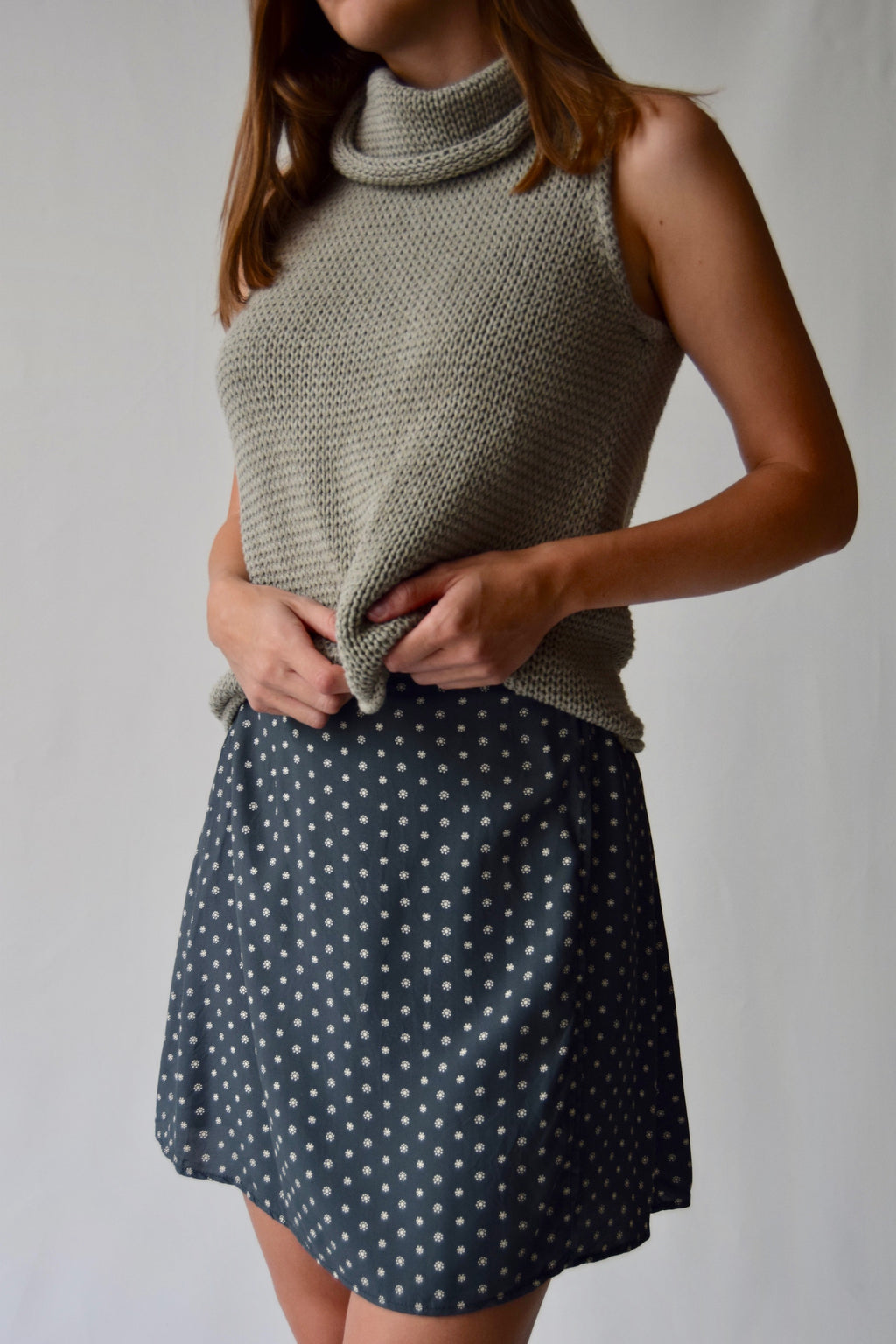 Vintage Spruce ESPRIT Wrap Skirt FREE SHIPPING