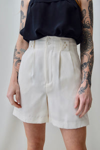 Diamond Detail Trouser Shorts