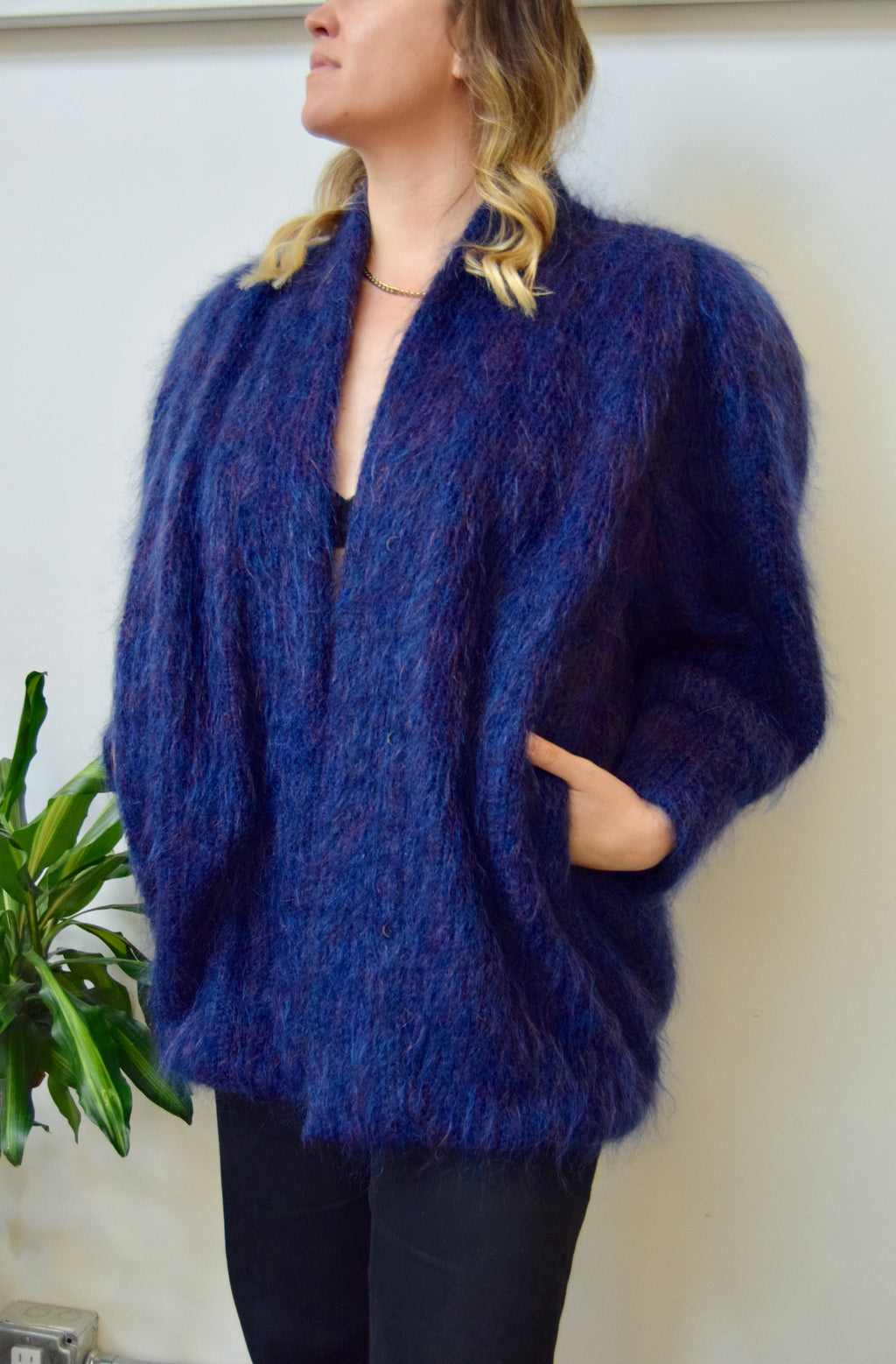 Ladies Is Pimps Too Mohair Coat