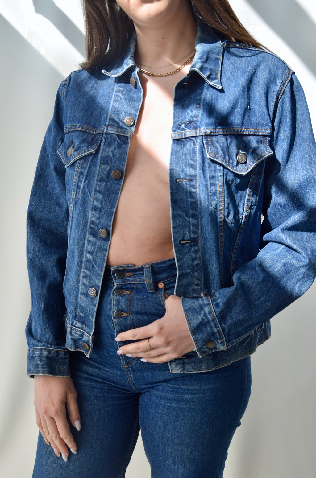 Vintage Levis Made in USA Denim Jacket