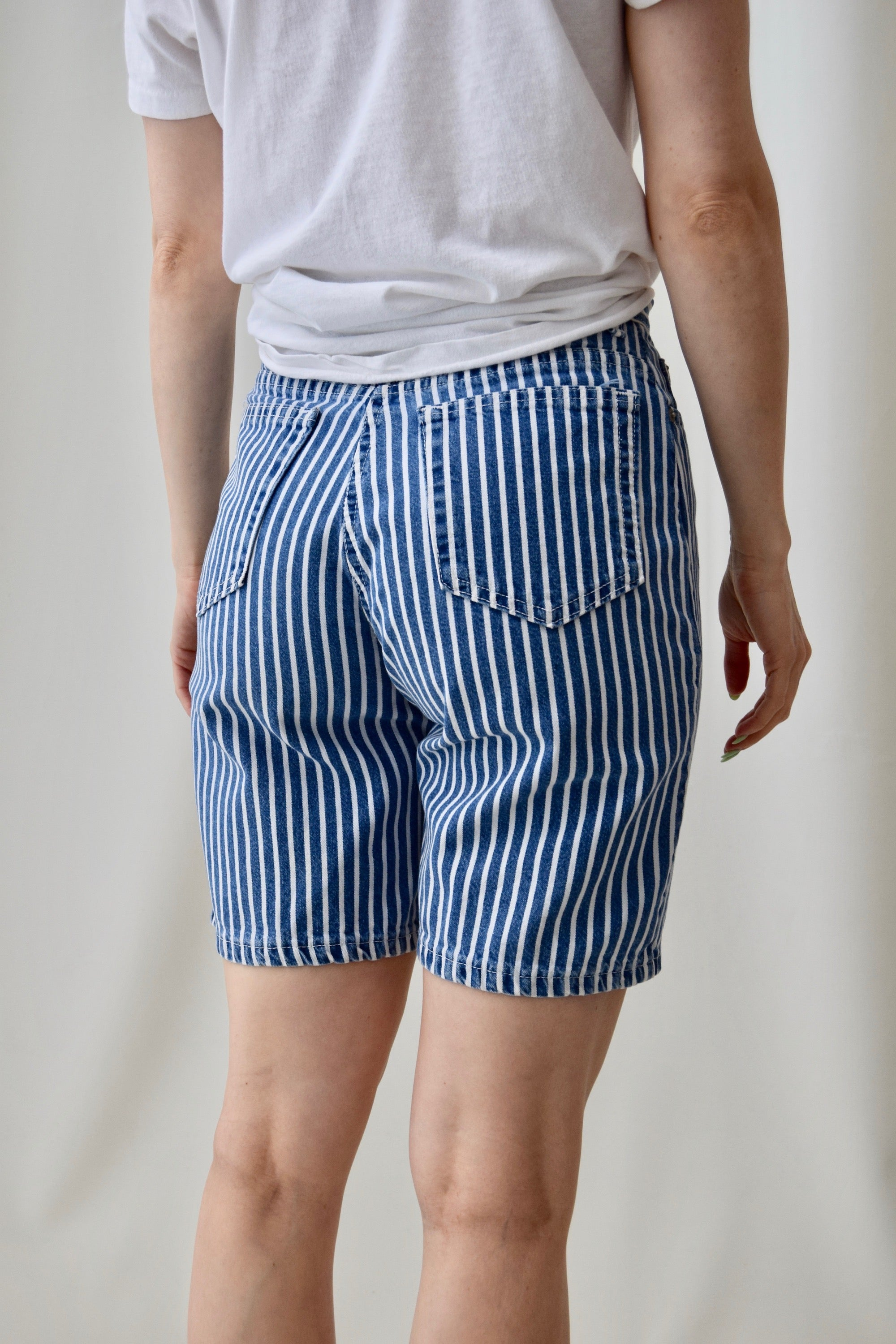 Hickory Striped Bermuda Shorts