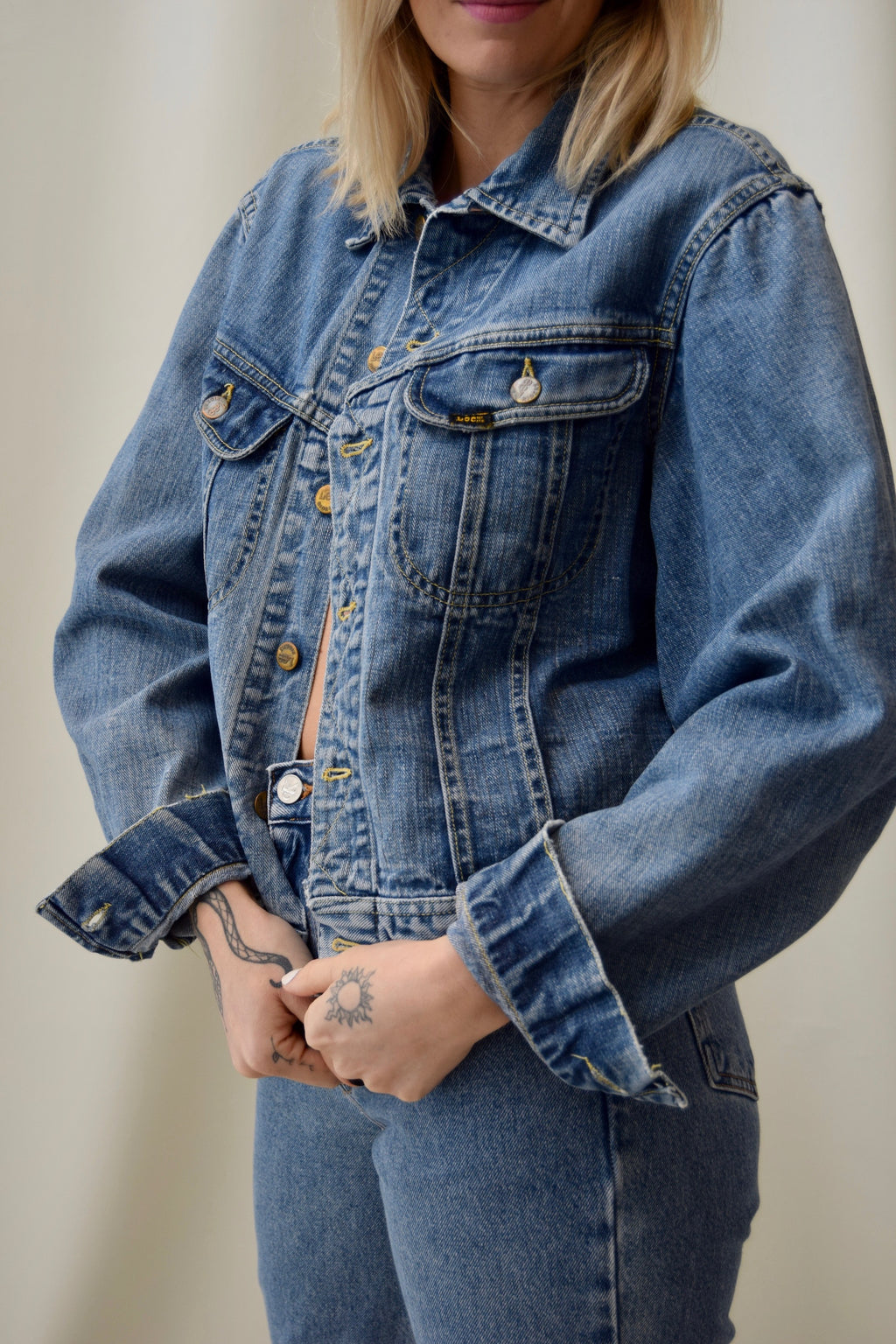Vintage Lee Riders Sanforized 101-J Denim Jacket