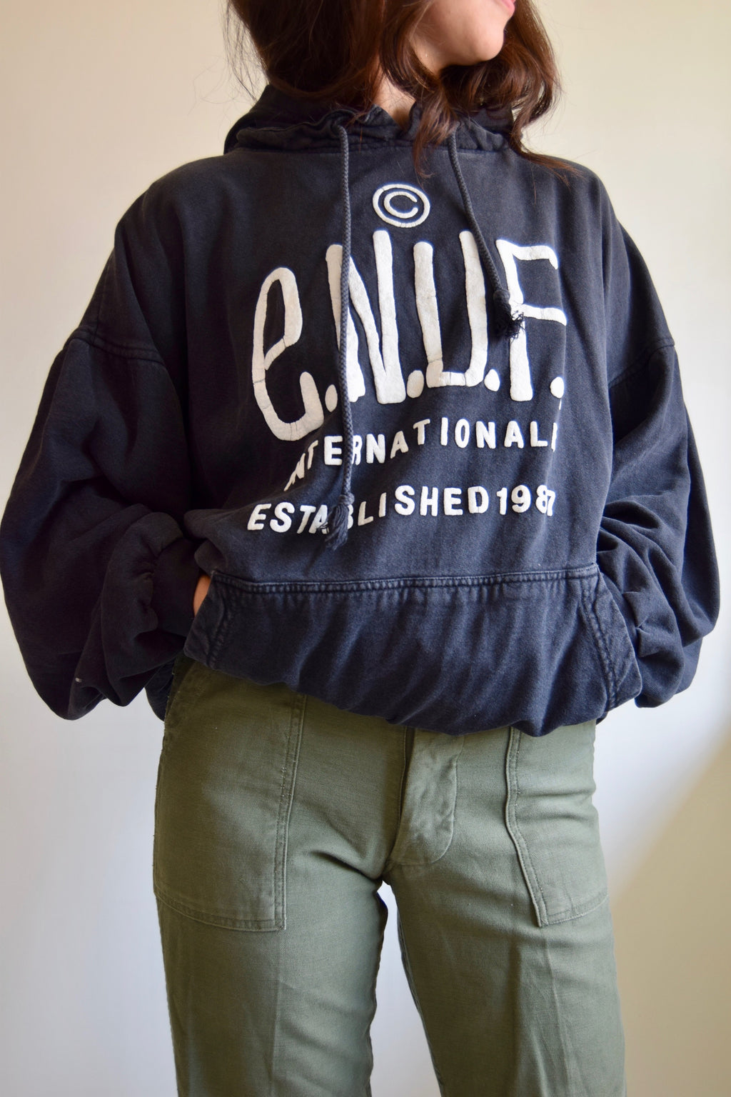 Vintage 90's E.N.U.F Internationale Hoodie
