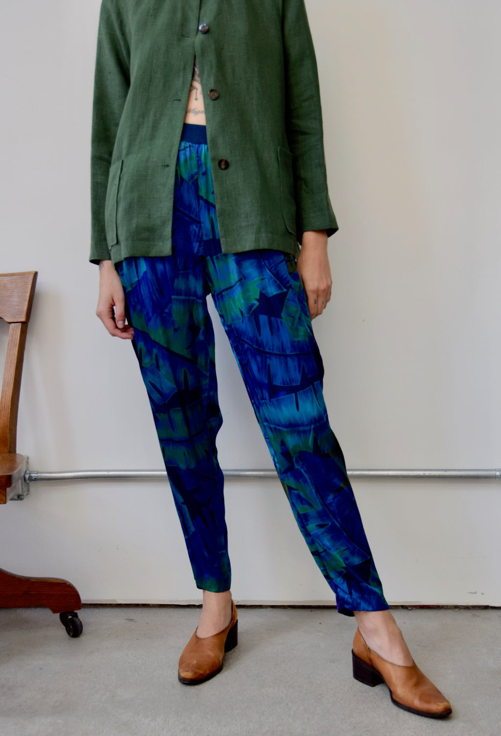 Rayon Jungle Pants
