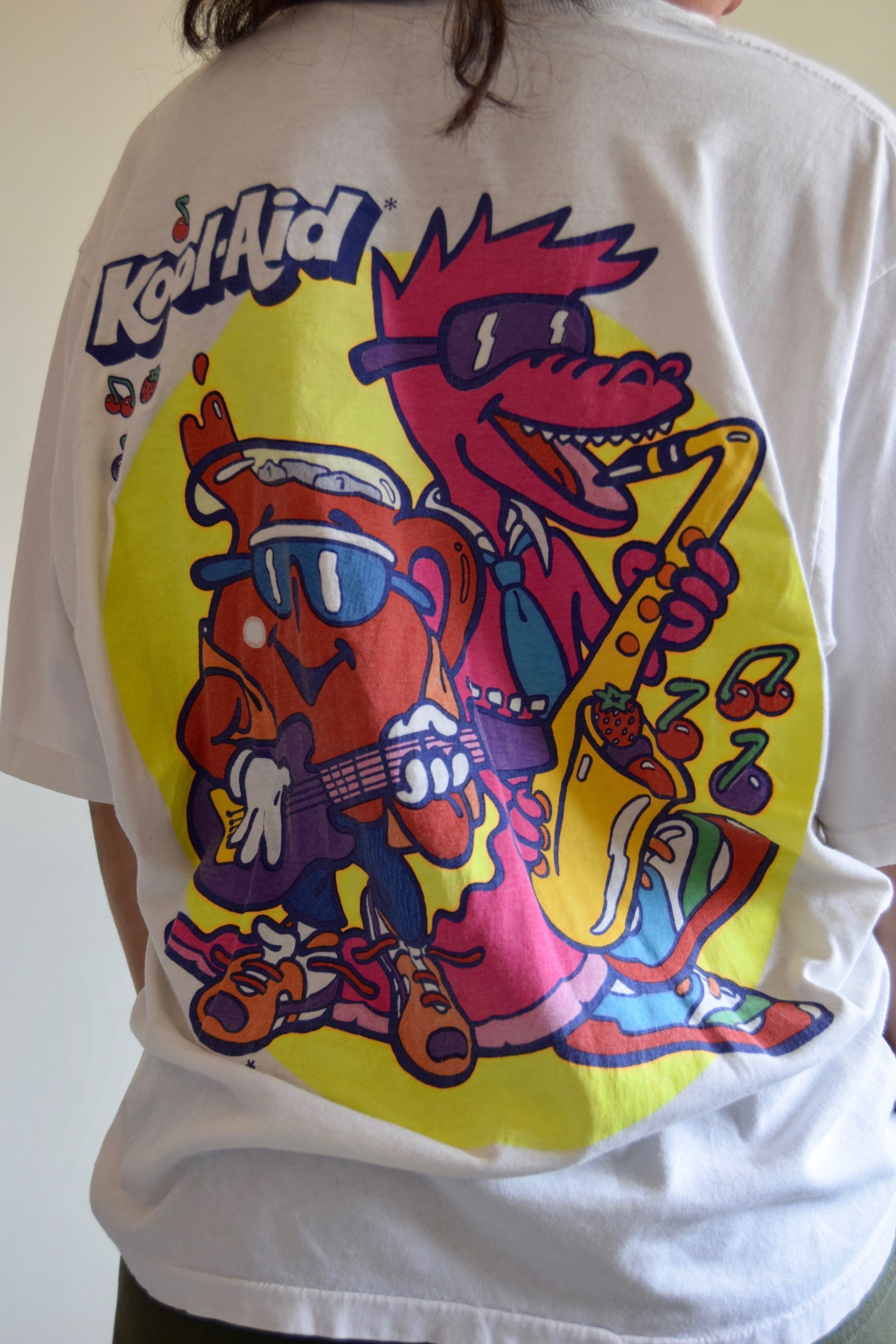 Vintage Rock-a-dile Kool-Aid T-Shirt FREE SHIPPING TO THE U.S.